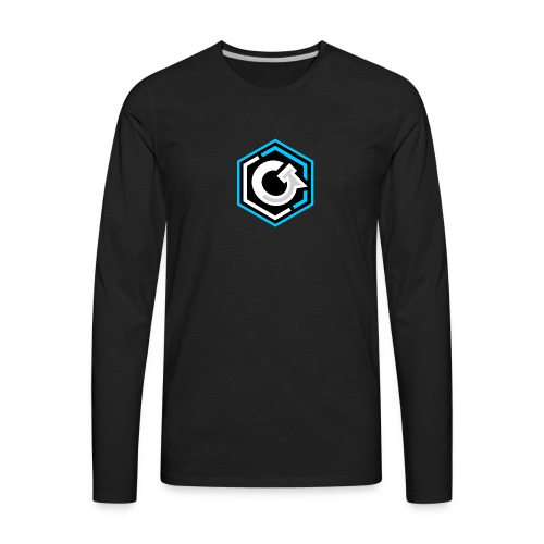 Original Logo - Men's Premium Long Sleeve T-Shirt