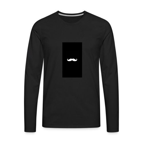 Mustache - Men's Premium Long Sleeve T-Shirt