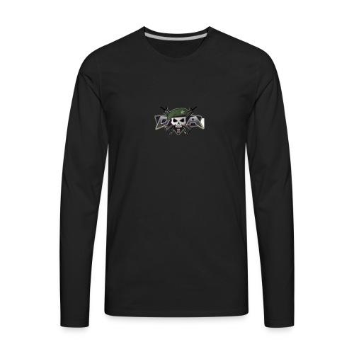 Mini militia t -shirts - Men's Premium Long Sleeve T-Shirt