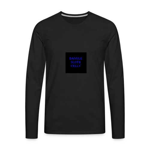 danglesloth - Men's Premium Long Sleeve T-Shirt
