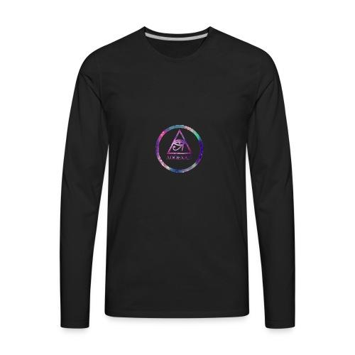 Emblem LoweCase - Men's Premium Long Sleeve T-Shirt