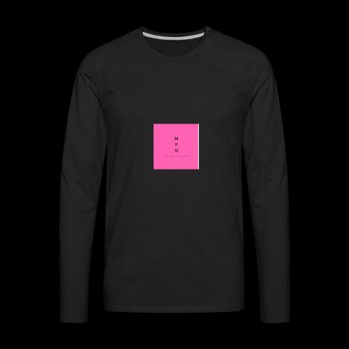 MarketingQueen 4 - Men's Premium Long Sleeve T-Shirt