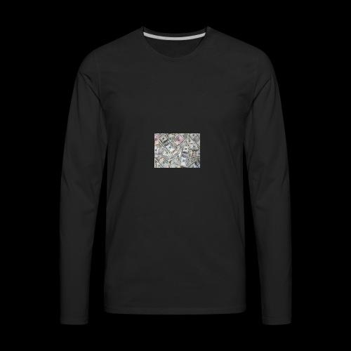 rich pepole all pepole - Men's Premium Long Sleeve T-Shirt