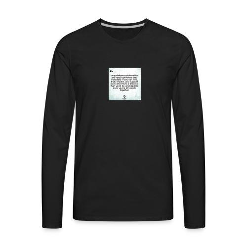 for my gf chloe - Men's Premium Long Sleeve T-Shirt