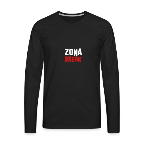 Zonabreak - Men's Premium Long Sleeve T-Shirt