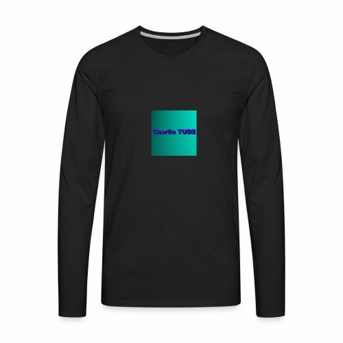 Charlie TUBE pp - Men's Premium Long Sleeve T-Shirt