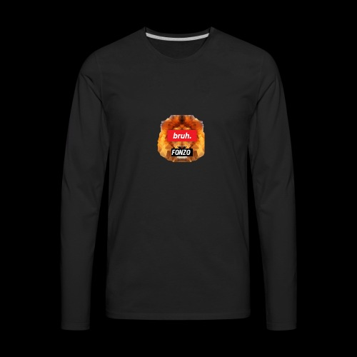BruhFonzo [limited edition] - Men's Premium Long Sleeve T-Shirt