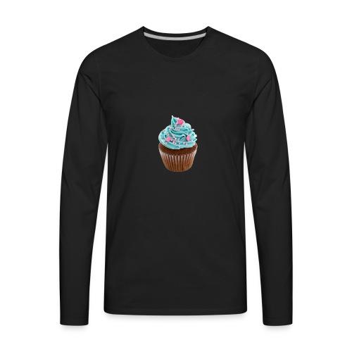 Cupcake mug - Men's Premium Long Sleeve T-Shirt