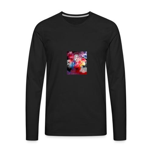 Black T-Shirt Drake Kendrick J.Cole - Men's Premium Long Sleeve T-Shirt