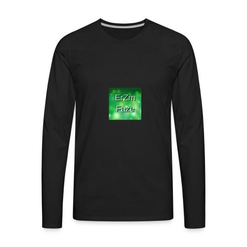 ErZm Faze Logo (MEMBER) - Men's Premium Long Sleeve T-Shirt