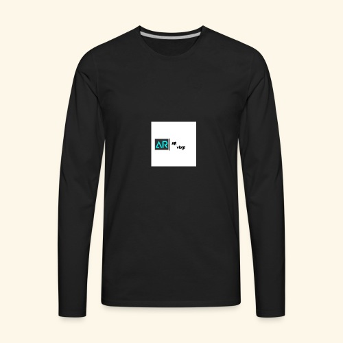 premium AR vlogs half sleeves tee - Men's Premium Long Sleeve T-Shirt