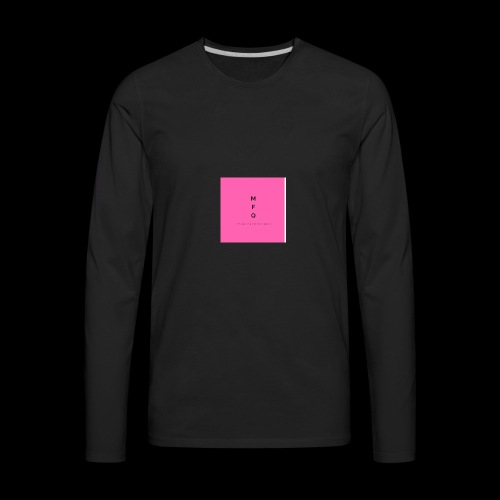 MarketingQueen 4 - Men's Premium Long Sleeve T-Shirt