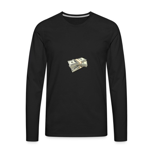 moneystack - Men's Premium Long Sleeve T-Shirt