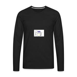 Drummin JamminJR - Men's Premium Long Sleeve T-Shirt