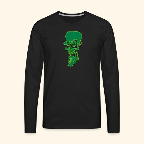zombie - Men's Premium Long Sleeve T-Shirt
