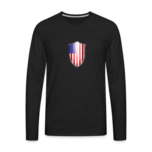 shield small - Men's Premium Long Sleeve T-Shirt