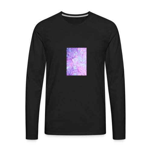 crystals tee - Men's Premium Long Sleeve T-Shirt