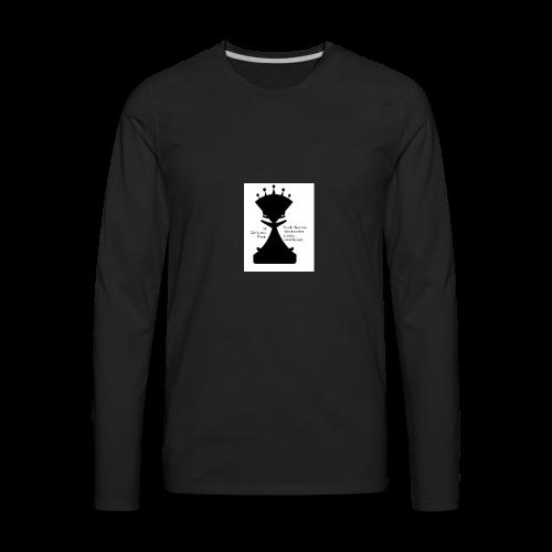 LogoImage2WordsLarge - Men's Premium Long Sleeve T-Shirt
