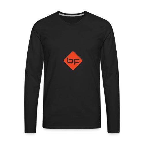 logo BF rouge - Men's Premium Long Sleeve T-Shirt