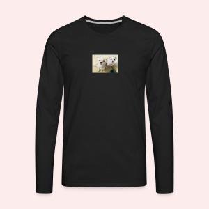 Jo's dogs 💕 - Men's Premium Long Sleeve T-Shirt