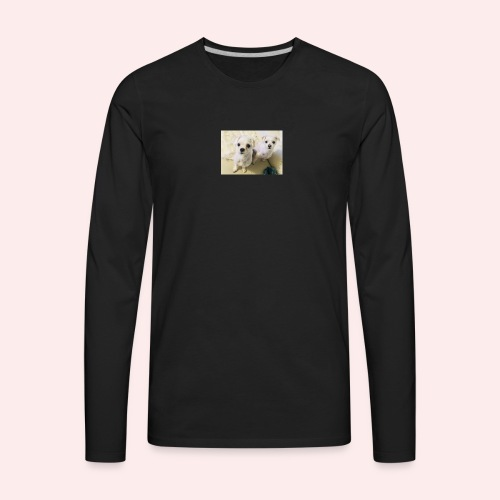Jo's dogs 💕 - Men's Premium Long Sleeve T-Shirt