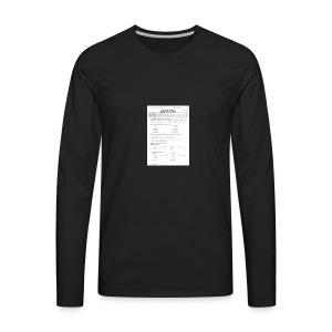 85e57f808add91d21cfcfb965d2b59a1 - Men's Premium Long Sleeve T-Shirt