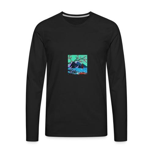 Pyramid Scheme - Men's Premium Long Sleeve T-Shirt