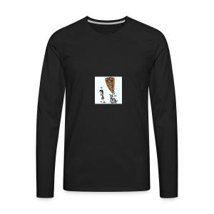 Less mobile more books - Men's Premium Long Sleeve T-Shirt