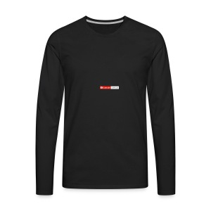 The state of my channel - Men's Premium Long Sleeve T-Shirt