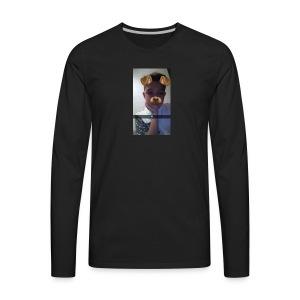 Snapchat 839021424 - Men's Premium Long Sleeve T-Shirt