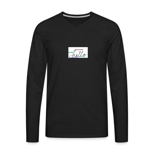 Amazing - Men's Premium Long Sleeve T-Shirt