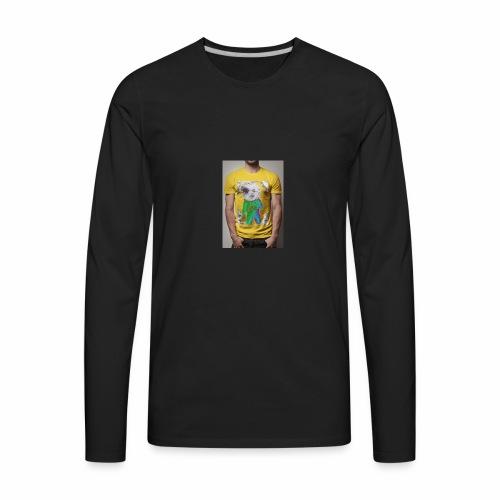 CABEÇA - Men's Premium Long Sleeve T-Shirt