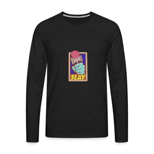 Slay Kendama Design - Men's Premium Long Sleeve T-Shirt