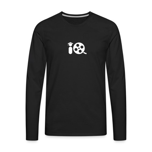 Filmmaker IQ Logo - Men's Premium Long Sleeve T-Shirt