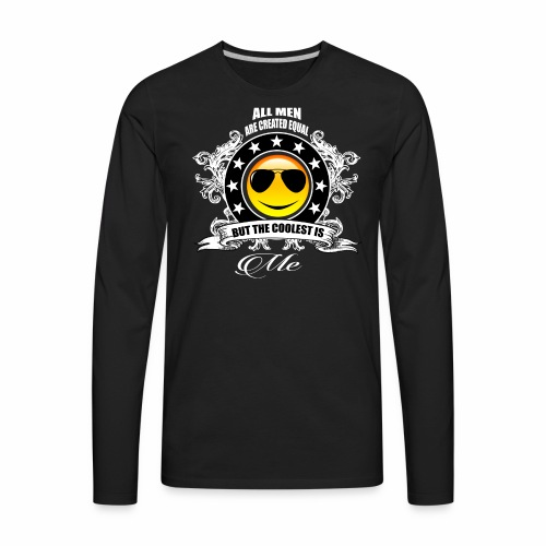 Too Cool For School - Men's Premium Long Sleeve T-Shirt