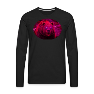 STAR BEAR - Men's Premium Long Sleeve T-Shirt
