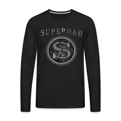 Father´s Day T-Shirt - Superdad - Men's Premium Long Sleeve T-Shirt