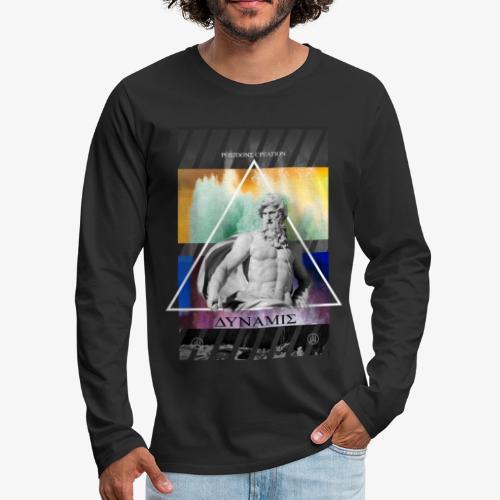 POSEIDONS CREATION - Men's Premium Long Sleeve T-Shirt