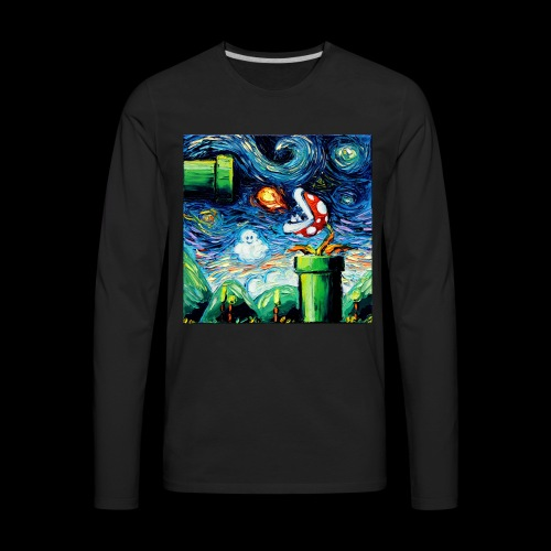 A Stroke Of Brilliance - Men's Premium Long Sleeve T-Shirt