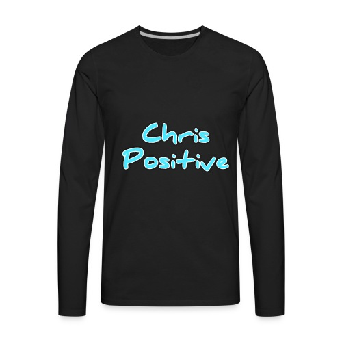 Chris Positive - Men's Premium Long Sleeve T-Shirt