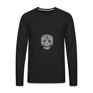 Apoxia Skull - Men's Premium Long Sleeve T-Shirt
