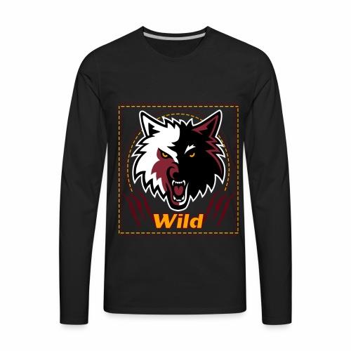 Wild - Men's Premium Long Sleeve T-Shirt