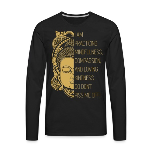 Meditation - Men's Premium Long Sleeve T-Shirt