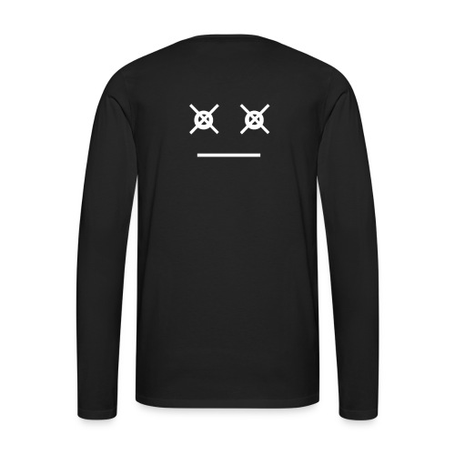 LazarusFaceWhite - Men's Premium Long Sleeve T-Shirt