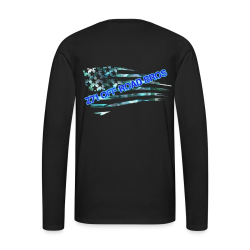 flag logo - Men's Premium Long Sleeve T-Shirt