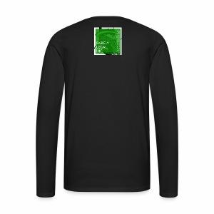 Smoking Man #1 - Men's Premium Long Sleeve T-Shirt