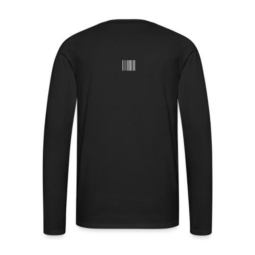 Bar Code - Men's Premium Long Sleeve T-Shirt