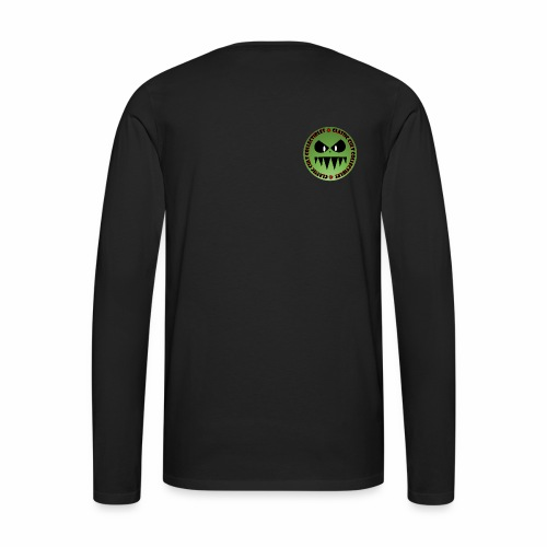 CCC Face Logo - Men's Premium Long Sleeve T-Shirt