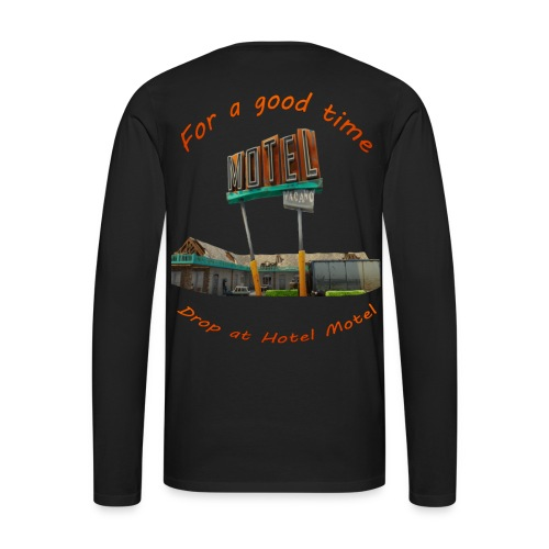 hotelmotel - Men's Premium Long Sleeve T-Shirt