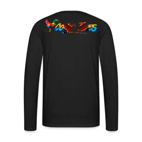 Cock Tees Cover Image Long Sleeve - Men's Premium Long Sleeve T-Shirt